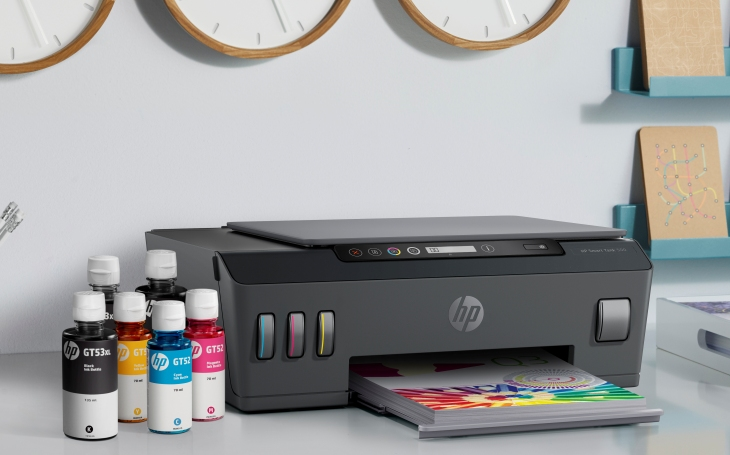 HP rozšiřuje své portfolio tiskáren o řadu HP Smart Tank