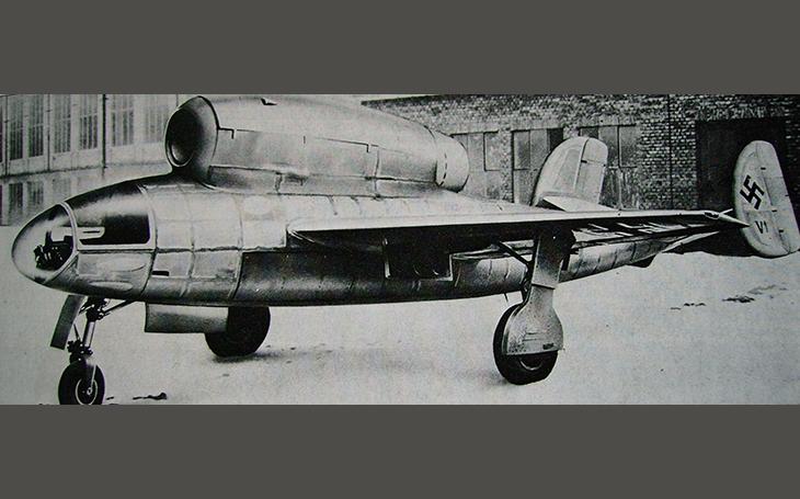 Zapomenuté letouny – proudový Henschel Hs 132 měl nahradit legendární střemhlavou Stuku