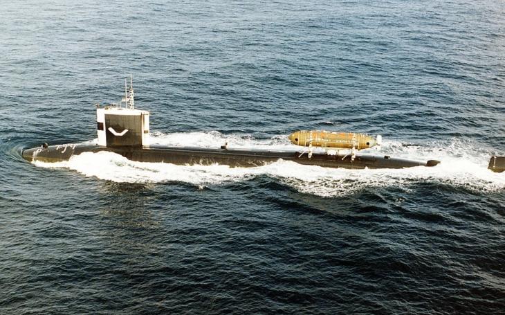 Srážka americké a sovětské jaderné ponorky s jadernými zbraněmi u pobřeží Kamčatky