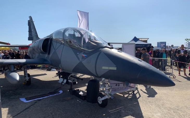 NATO Days 2019 - Hlavním tahákem prvního dne byl letoun L-39 NG
