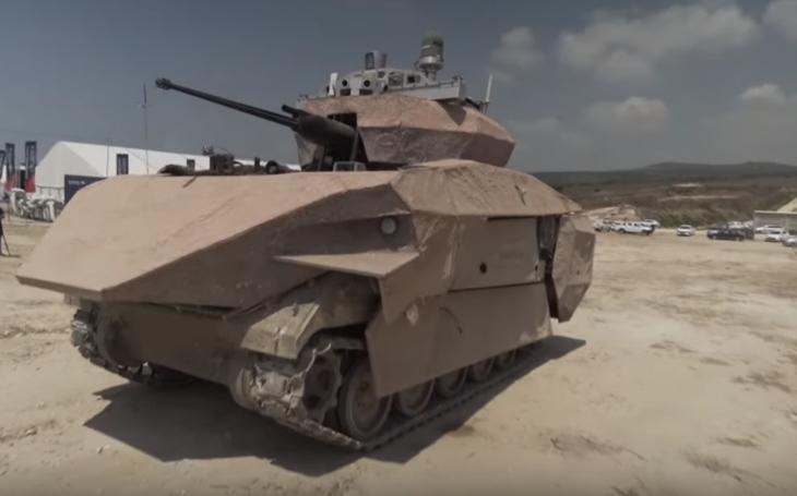 Izraelský ,,gamechanger&quote; budoucnosti? Obrněné vozidlo Carmel bude operovat i v hustě osídlených městských oblastech