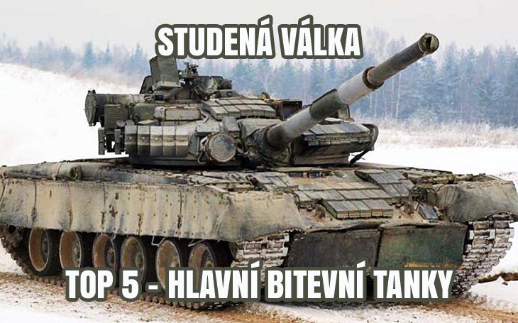 Top 5 tanků studené války: Abrams, Challenger, Leopard, Merkava, T-80