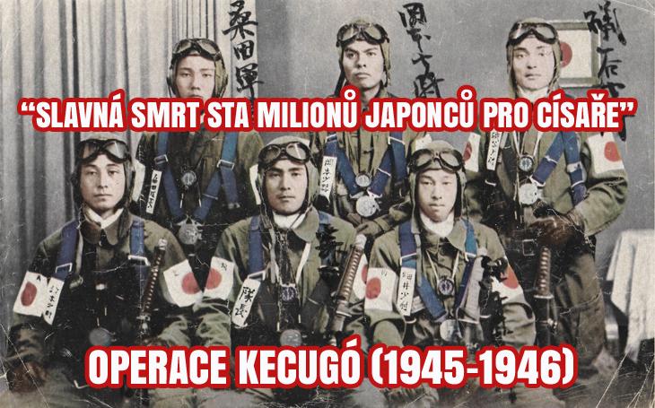 """Detaily operace Kecugó: """"Slavná smrt sta milionů Japonců pro císaře"""". Bambusovým kopím i mečem proti mašinerii USA"""