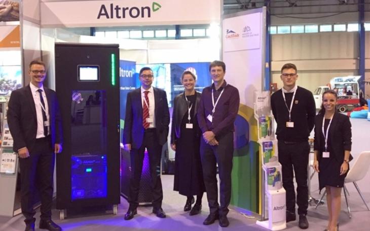 Mikro-datové centrum Altron budilo pozornost na mezinárodním veletrhu ITU Telecom World 2019