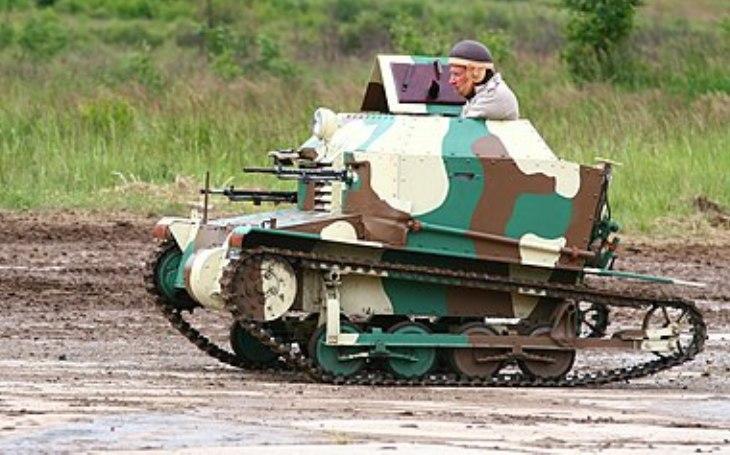 Technologie armády ČR (ČSR) - Tančík vz.33 nikdo nechtěl. Nalezl ale &quote;diplomatické&quote; uplatnění
