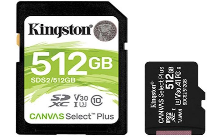 Kingston přichází s novou řadou SD a microSD karet Canvas Select Plus