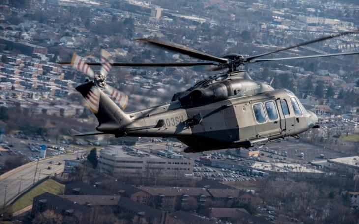 Výroba vrtulníků &quote;Šedý vlk&quote; se opět rozjede. Američané si italskou konstrukci vyrábějí doma. Na rozdíl od ČR nemají dodavatele za oceánem