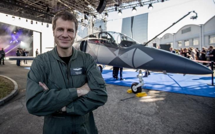 Exkluzivně: L-39NG je kvalitní letoun, který si zaslouží, aby si ho zákazník našel, říká testovací pilot David Jahoda