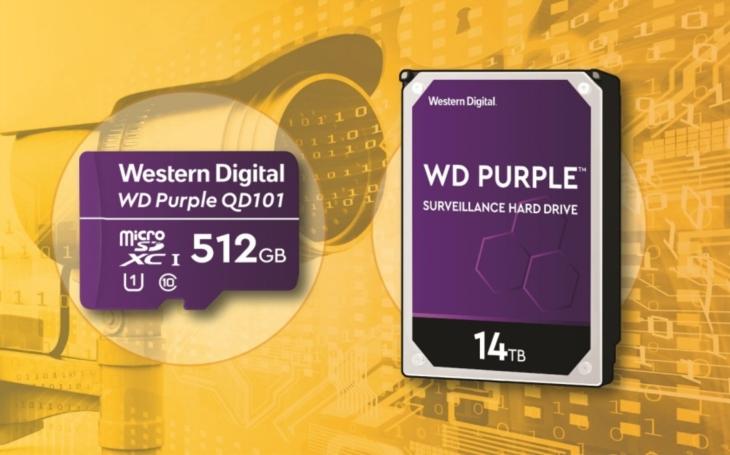 Western Digital uvádí úložiště optimalizované pro bezpečnostní systémy, umělou inteligenci a pro nasazení v chytrých městech