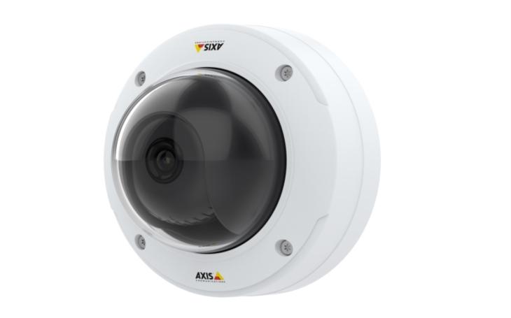 Axis představuje první fixní kopulovitou kameru s čipem ARTPEC-7