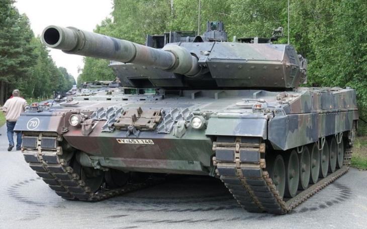 Bundeswehr obdržel první tank Leopard 2 modernizovaný na standard A7V