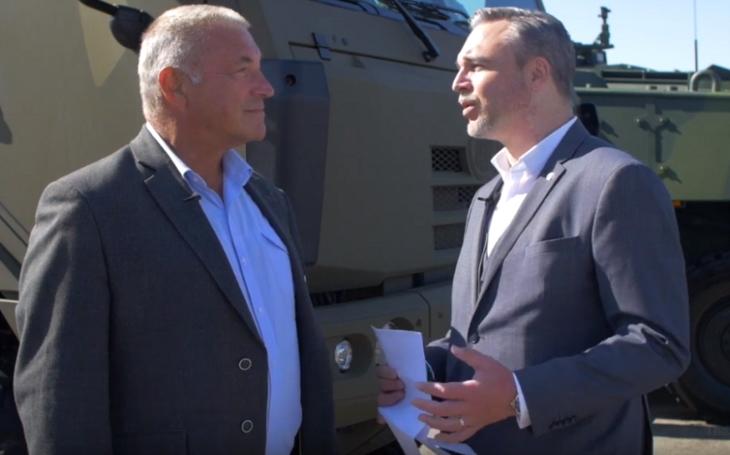 NATO Days 2019: Klíčové pro mě je, jakým způsobem se bude podílet český obranný průmysl na zakázce na nová BVP, řekl v rozhovoru pro SM poslanec Hájek