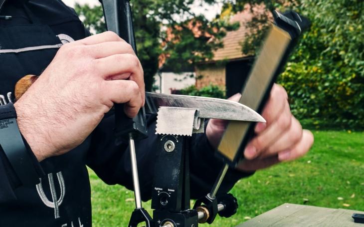 Jak špičkově nabrousit nůž v domácím prostředí? Videorozhovor Tacticoolny