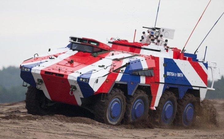 Ministerstvo obrany Spojeného království objednalo více než 500 vozidel Boxer za 2,6 miliardy eur