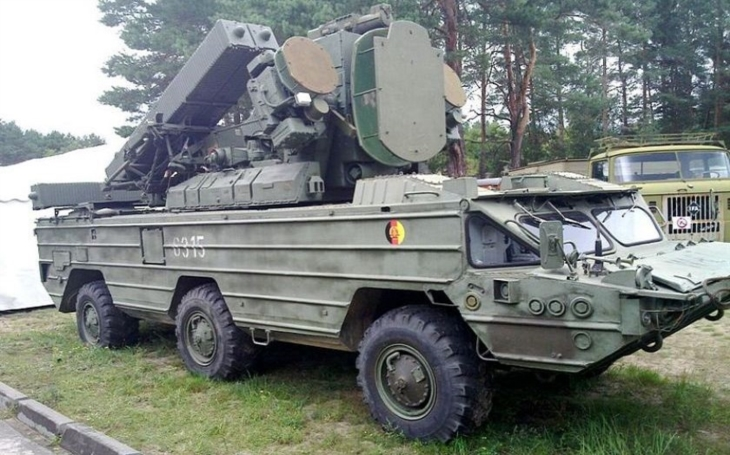 9K33 Osa: Samohybný protiletadlový raketový komplet si našel cestu i do československé armády