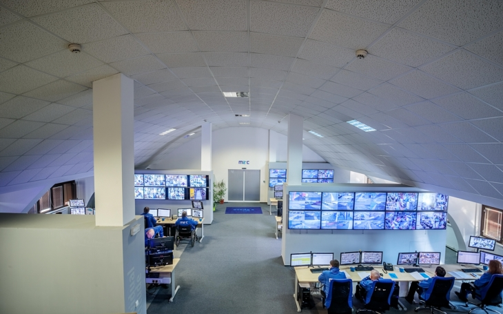 Největší komerční dohledové centrum střední Evropy je pražské M2C Space
