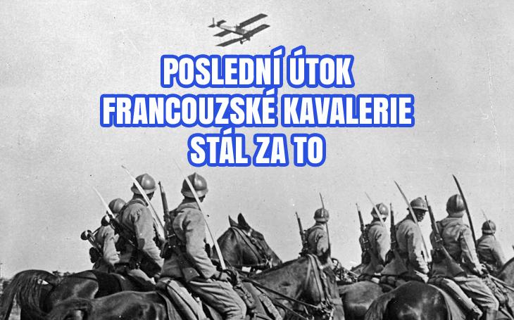 Bulharský car telegrafuje německému císaři: &quote;Katastrofa!&quote; Francouzská kavalerie uspíšila konec 1. světové války