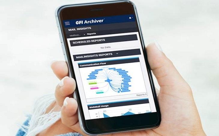 Kombinace Kerio Connect s GFI Archiver poskytuje zákazníkům silné a ucelené poštovní řešení