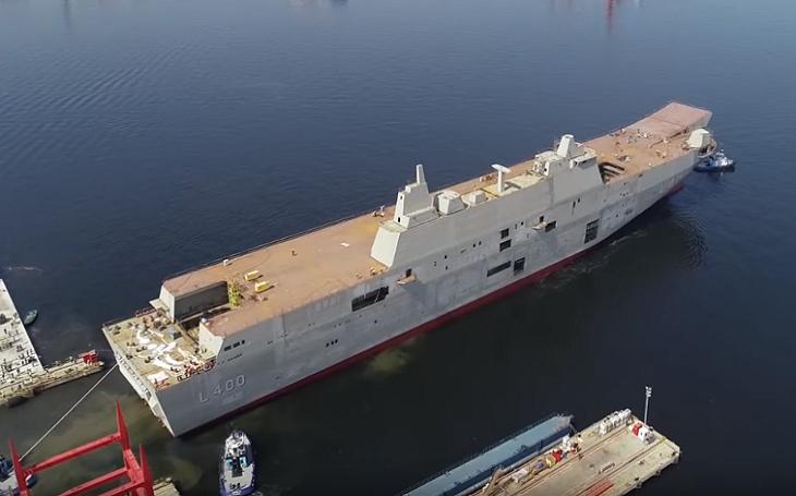 Turecké námořnictvo dostane v roce 2020 vrtulníkovou výsadkovou loď TCG Anadolu