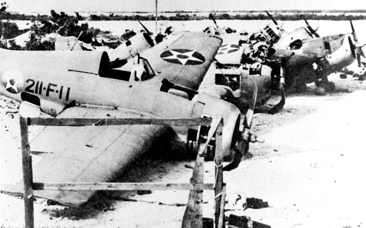 Bitva o ostrov Wake: Američani se neubránili přesile. Japonský velitel si k popravě zajatců vzal i katanu
