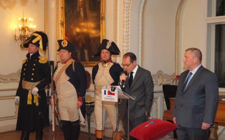 Pořadatel vzpomínkových akcí Austerlitz vyznamenán francouzským Národním řádem za zásluhy