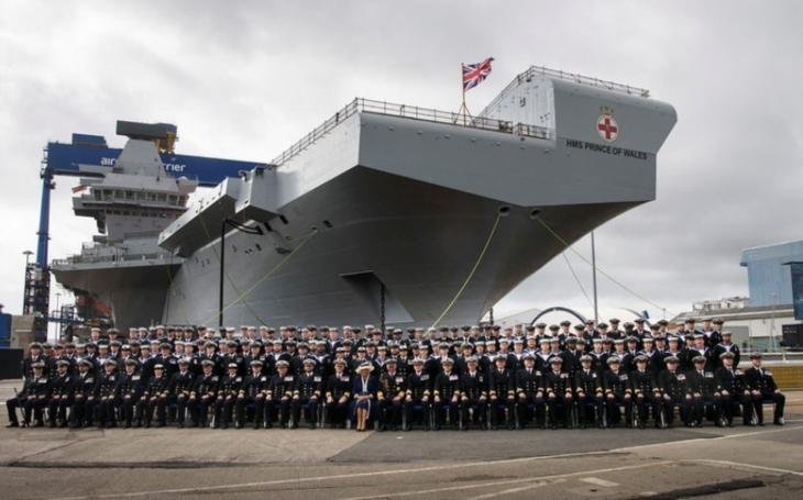 Nová éra britského námořnictva: Druhá letadlová loď Prince of Wales pro Royal Navy