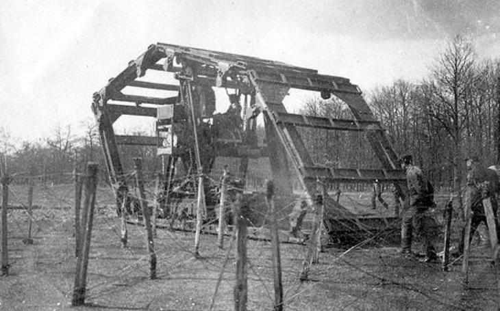 Boiraultův stroj - Francouzský experiment z 1. světové měl jeden úkol