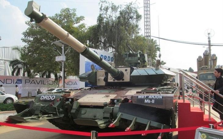 Arjun Mk.II: nelehký osud indického domácího tanku