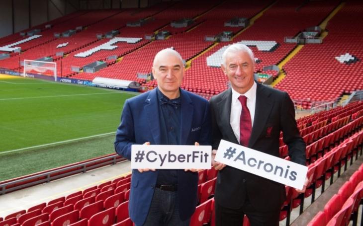 Liverpool Football Club partnerem společnosti Acronis v oblasti kyberneticky chráněného zálohování a ukládání dat