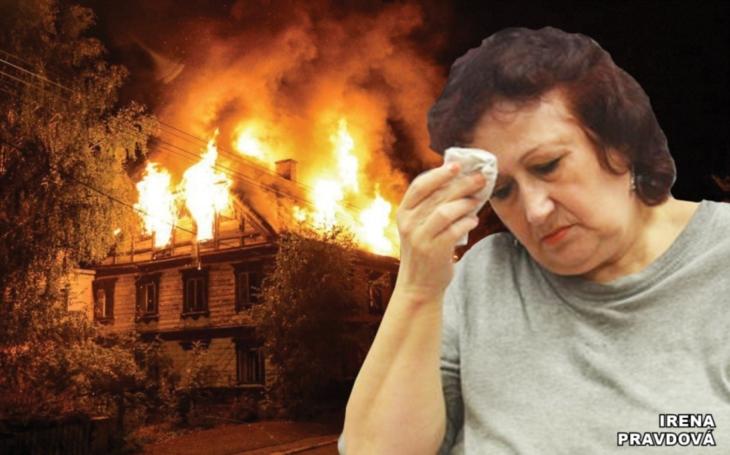 Zapálila dům i s vnukem, nebo bylo všechno jinak? Paní Pravdová žádá obnovení procesu, stojí za ní renomovaný soudní znalec