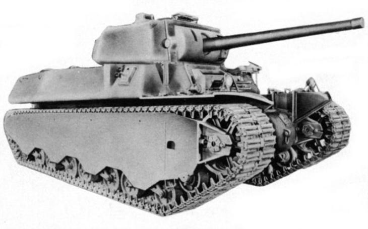 M6 -  I Američané měli ve druhé světové válce těžký tank. Nikdy však nezasáhl do boje