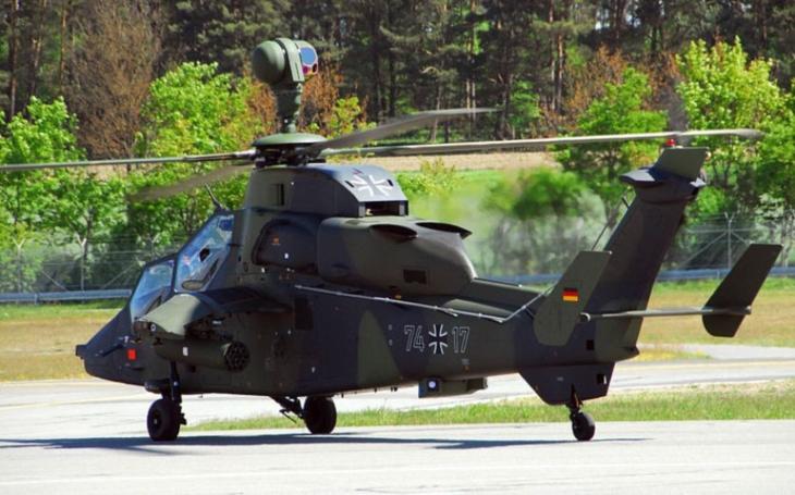 Šok, nebo už realita? Ze 152 německých vrtulníků Tiger a NH90 je pouze 20 připraveno do akce