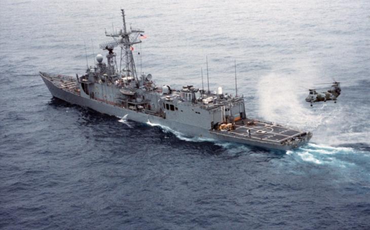 Operace Praying Mantis - americký úder na íránské cíle v roce 1988
