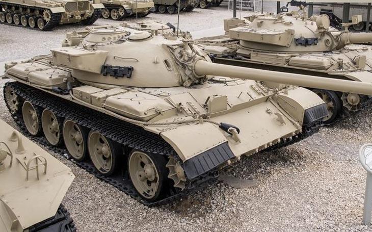 Tanky Tiran - arabské T-54, T-55 a T-62 v izraelské službě