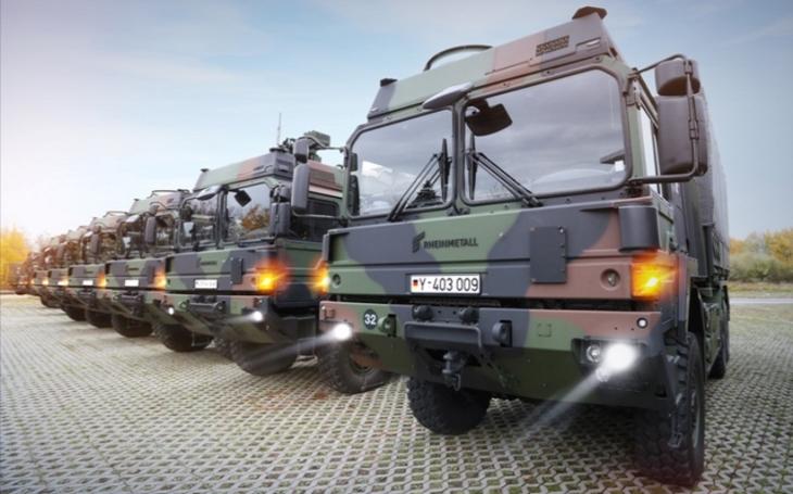 Rheinmetall dodá Bundeswehru dalších 1 000 nákladních vozidel za 9,6 miliardy korun