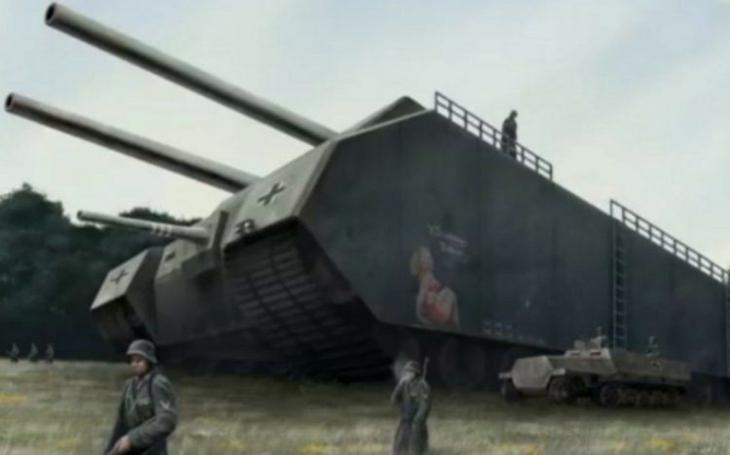 Landkreuzer P. 1000 Ratte - Tisícitunové nacistické monstrum mělo nahánět strach. Nakonec projekt ,,zařízl&quote; Hitlerův nejlepší přítel