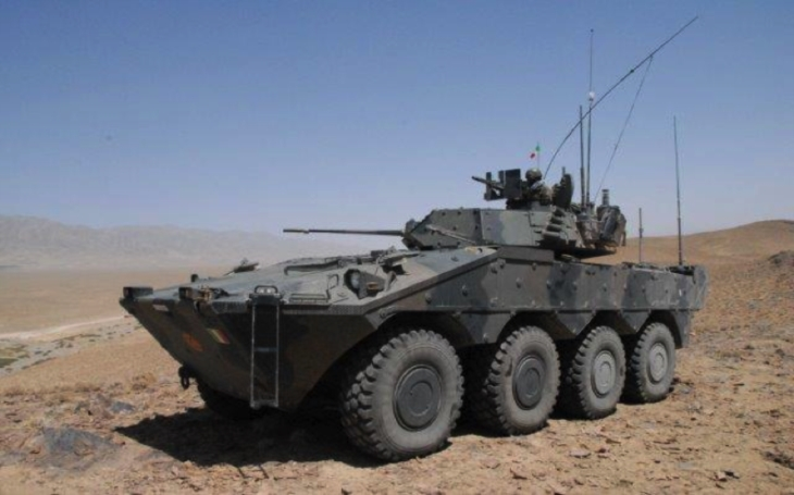 Italská armáda pořizuje pro svou mechanizovanou pěchotu nová kolová BVP Freccia