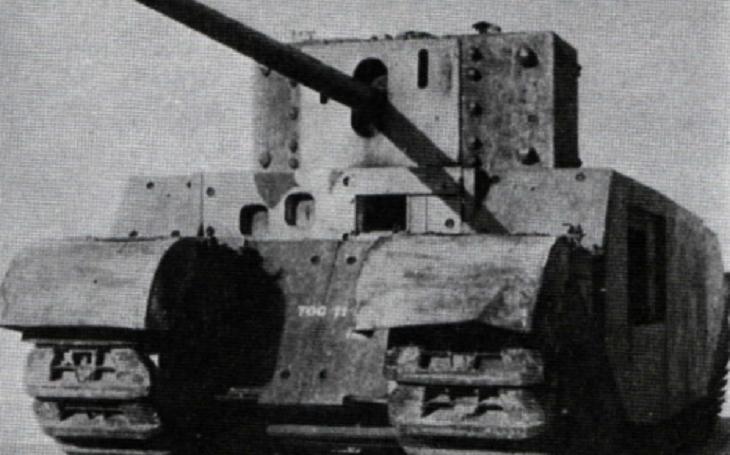Britský supertěžký tank TOG – nepovedený dinosaurus starých mužů Velké války