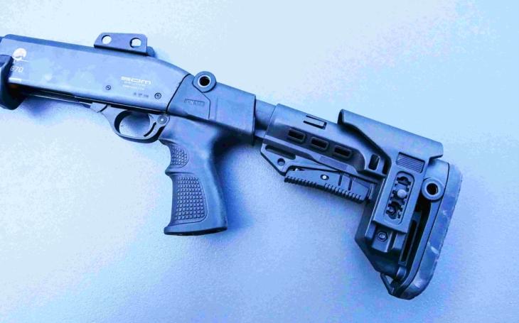 Stavebnicový systém pažeb pro brokovnice Remington 870, SDM 870 a další