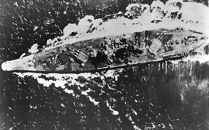 Když umírala největší bitevní loď světa Jamato, bylo to jako výbuch taktické jaderné bomby