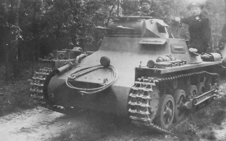 Tanky Panzer I nebyly žádné hračky. Své schopnosti názorně ukázaly celé Evropě