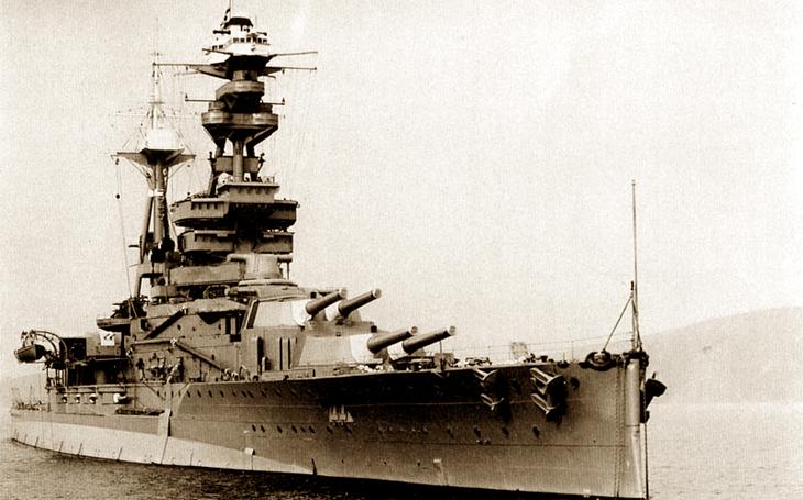Jako dobytí ráje: Německá ponorka tajně vplula do základny Royal Navy a &quote;Královský dub&quote; šel ke dnu