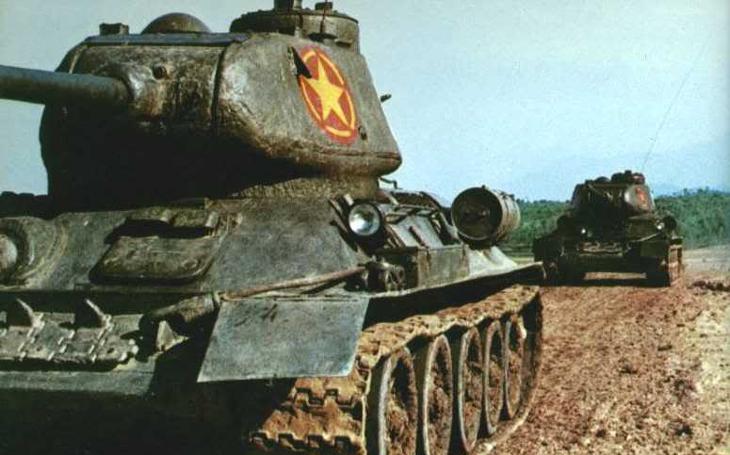 Asijské dějiny tanku T-34: Severovietnamci jej nasadili proti Američanům i Číňanům