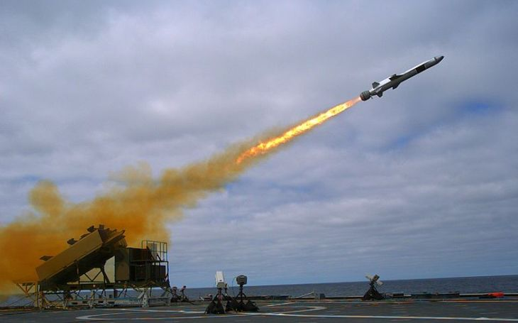 Americké námořnictvo a námořní pěchota chtějí protilodní střelu odpalovanou ze země