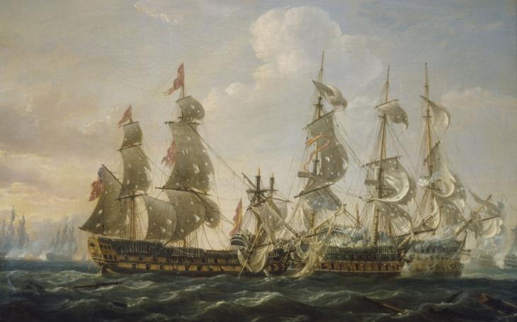 Svatovalentýnská bitva mezi Španěly a Brity: &quote;I kdyby jich bylo padesát, jdu do nich!&quote;