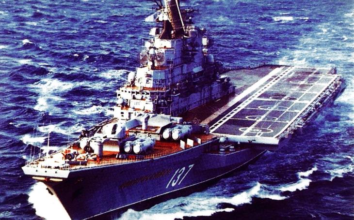 Sovětské po zuby ozbrojené lodě třídy Kiev měly být zabijákem amerických letadlových lodí. Nestalo se…