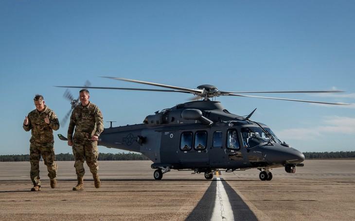 VIDEO: USAF dokončila první testovací let nového víceúčelového vrtulníku MH-139A Grey Wolf