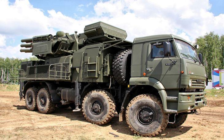 VIDEO: Turecko ničí ruský protiletadlový systém Pancir-S1 v Sýrii
