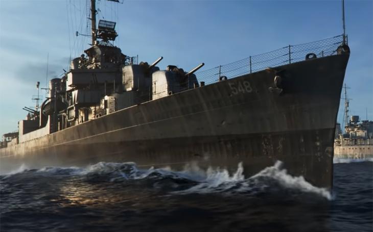 V červnu začne lov Toma Hankse. Z můstku torpédoborce bude potápět U-booty