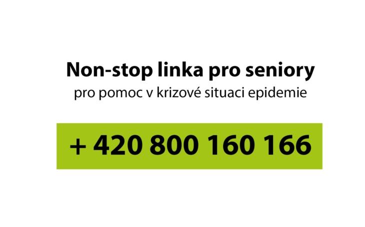 Nonstop linka pro pražské seniory ohrožené #Covid19